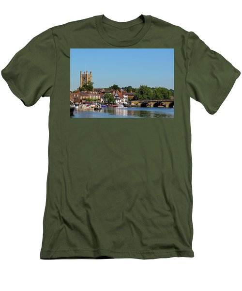 Henley On Thames Men's T-Shirt (Slim Fit) by Ken Brannen