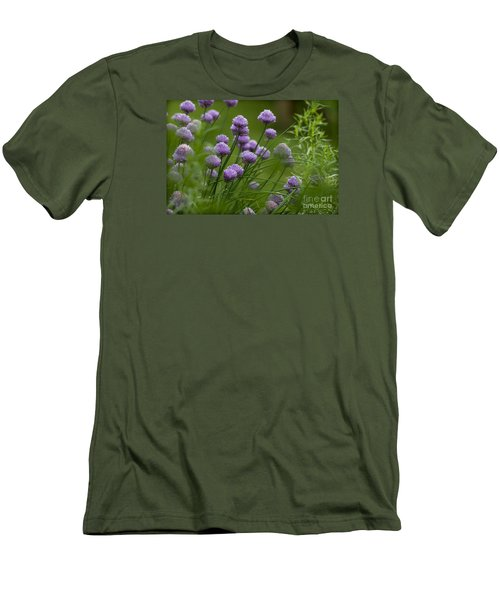 Herb Garden. Men's T-Shirt (Slim Fit) by Clare Bambers