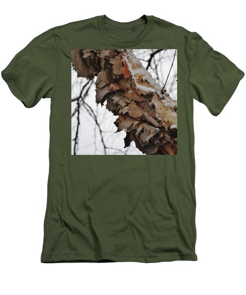 Men's T-Shirt (Slim Fit) featuring the photograph Heritage Birch by Vadim Levin