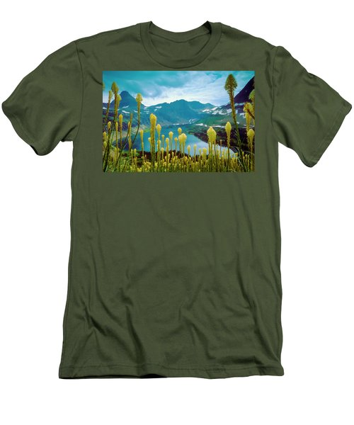 Hidden Lake, Gnp Men's T-Shirt (Athletic Fit)