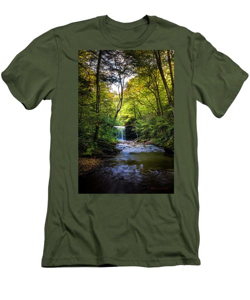 Men's T-Shirt (Slim Fit) featuring the photograph Hidden Wonders by Marvin Spates