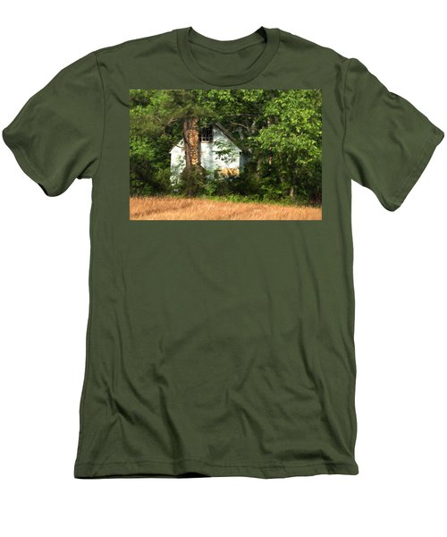 Men's T-Shirt (Slim Fit) featuring the photograph Hide And Seek by Kathleen Scanlan