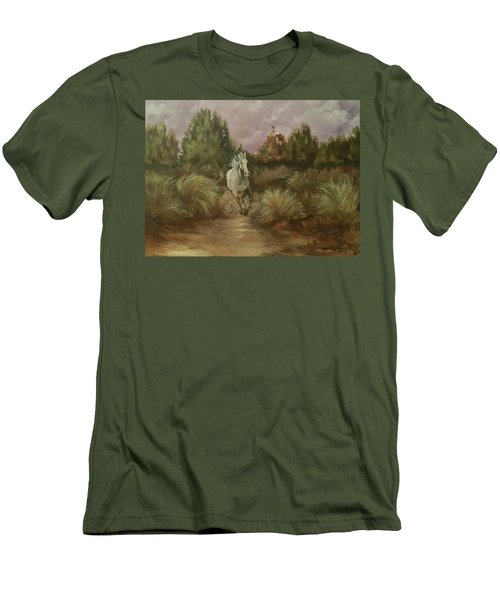High Desert Runner Men's T-Shirt (Athletic Fit)