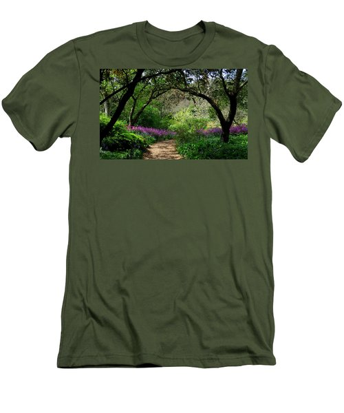 Highdown Gardens2 Men's T-Shirt (Athletic Fit)