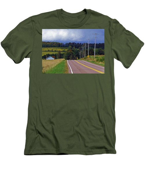 Hillside Ways Men's T-Shirt (Athletic Fit)