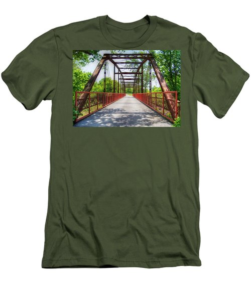 Hinkson Creek Bridge Men's T-Shirt (Athletic Fit)