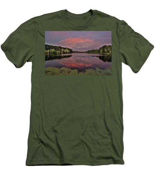 Hinson Lake Clouds Men's T-Shirt (Athletic Fit)