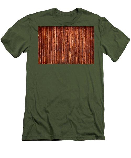 Historic Barnside Grand Tetons Men's T-Shirt (Slim Fit) by Steve Gadomski