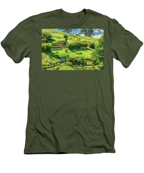 Hobbit Hills Men's T-Shirt (Athletic Fit)