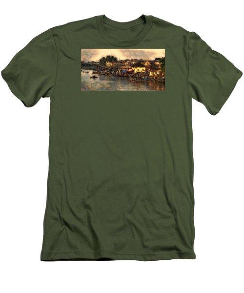 Hoi Ahnscape Men's T-Shirt (Slim Fit) by Cameron Wood