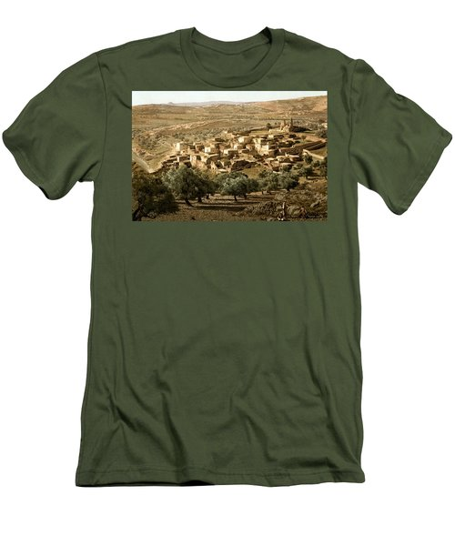 Holy Land - Bethany  Men's T-Shirt (Athletic Fit)