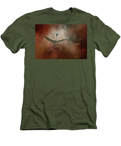 Men's T-Shirt (Slim Fit) featuring the photograph Home Coming by Marvin Spates
