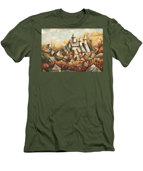 Homeland Men's T-Shirt (Slim Fit) by Vali Irina Ciobanu