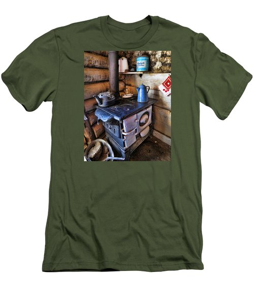 Homestead Stove Men's T-Shirt (Athletic Fit)