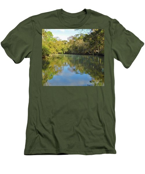 Homosassa River Men's T-Shirt (Athletic Fit)
