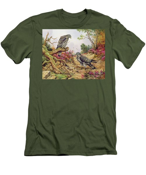 Honey Buzzards Men's T-Shirt (Slim Fit)