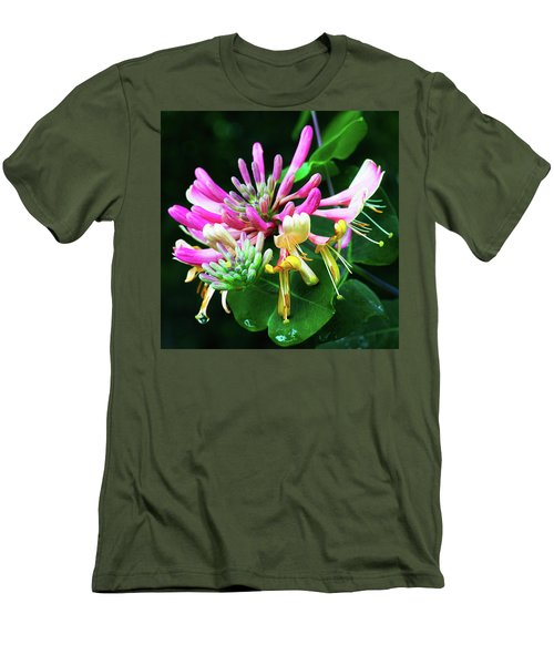 Honeysuckle Bloom Men's T-Shirt (Athletic Fit)