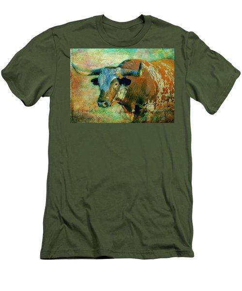 Hook 'em 1 Men's T-Shirt (Athletic Fit)
