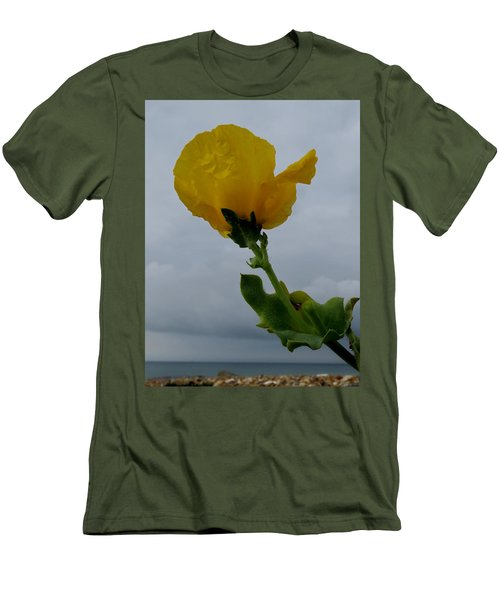 Horned Poppy Men's T-Shirt (Athletic Fit)