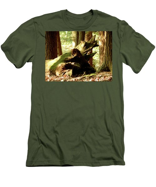 Horned Tree Men's T-Shirt (Athletic Fit)