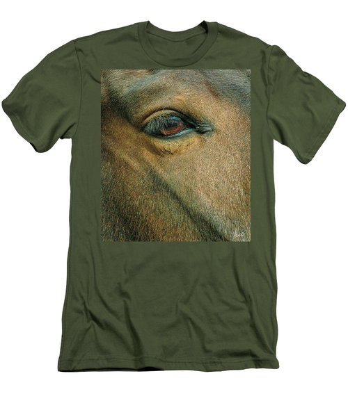 Horses Eye Men's T-Shirt (Athletic Fit)