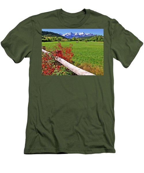 Horses In The San Juans Men's T-Shirt (Athletic Fit)