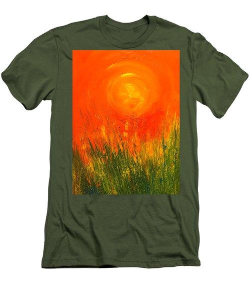 Hot Sun Men's T-Shirt (Athletic Fit)