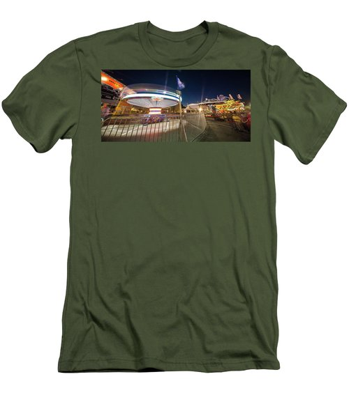 Houston Texas Live Stock Show And Rodeo #11 Men's T-Shirt (Slim Fit) by Micah Goff