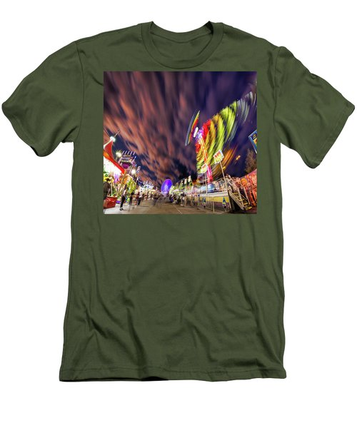 Houston Texas Live Stock Show And Rodeo #3 Men's T-Shirt (Slim Fit) by Micah Goff