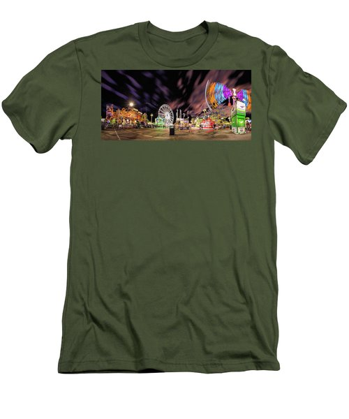 Houston Texas Live Stock Show And Rodeo #4 Men's T-Shirt (Slim Fit) by Micah Goff
