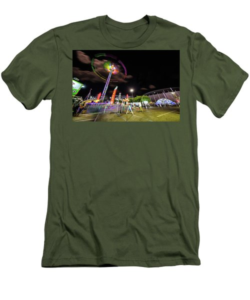 Houston Texas Live Stock Show And Rodeo #7 Men's T-Shirt (Slim Fit) by Micah Goff