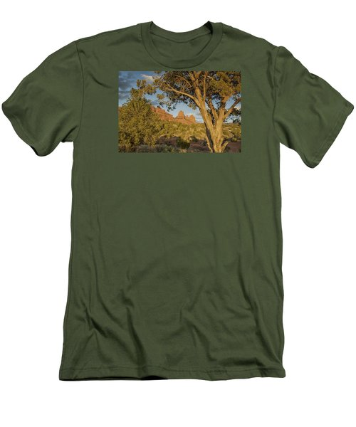 Men's T-Shirt (Slim Fit) featuring the photograph Huckabee by Tom Kelly
