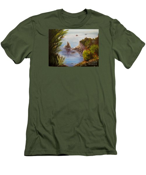 Humboldt Cove Men's T-Shirt (Athletic Fit)