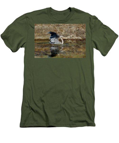 Hunting For Fish 5 - Digitalart Men's T-Shirt (Athletic Fit)