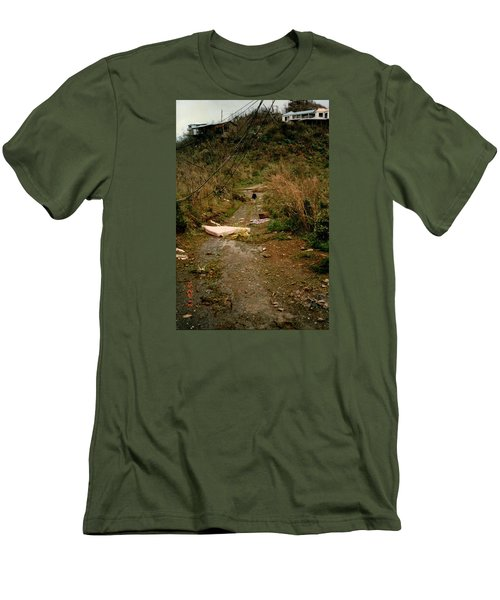Hurricane12 Men's T-Shirt (Slim Fit) by Robert Nickologianis