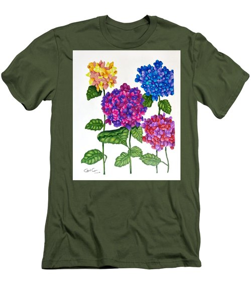 Hydrangea Men's T-Shirt (Athletic Fit)