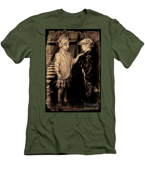 Men's T-Shirt (Slim Fit) featuring the photograph I Approve by Al Bourassa