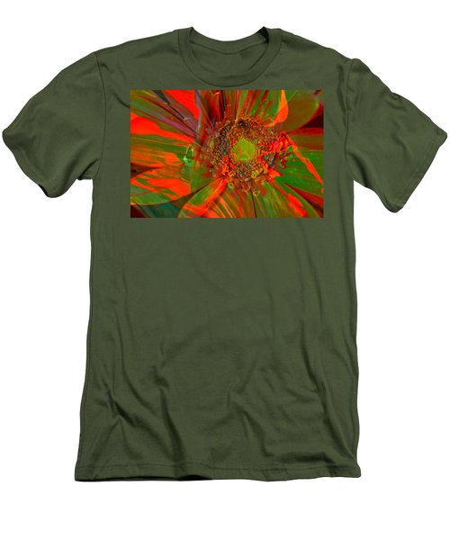 Men's T-Shirt (Slim Fit) featuring the photograph I Dreamed Of Flowers  by Jeff Swan