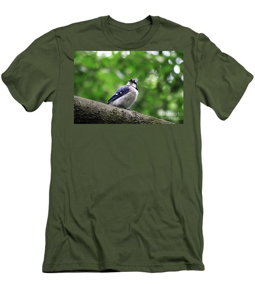 I Hear Something Men's T-Shirt (Athletic Fit)