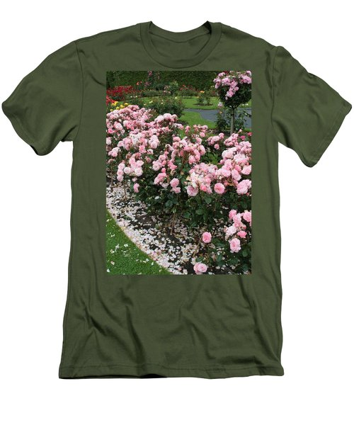 ...........i Never Promised You A Rose Garden Men's T-Shirt (Slim Fit) by Martina Fagan