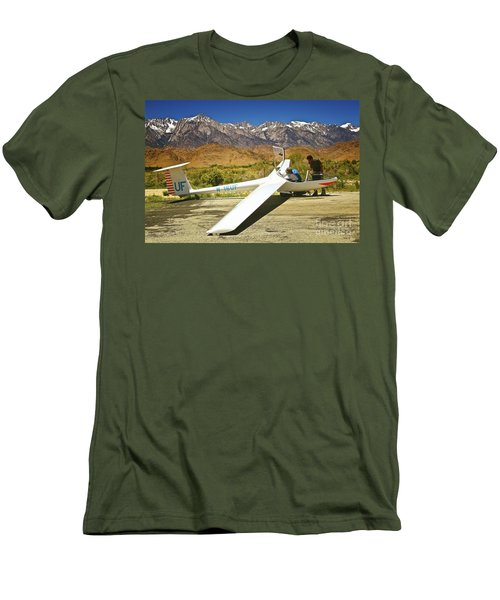 I See The Parachute Where's The Engine Men's T-Shirt (Athletic Fit)