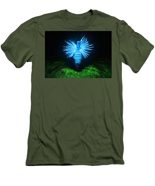 Men's T-Shirt (Slim Fit) featuring the photograph I Sing The Body Electric by Mark Fuller