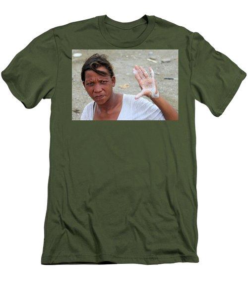 I Swear Men's T-Shirt (Slim Fit) by Jez C Self