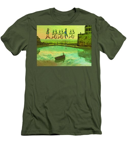 I Wasn't Born To Follow Men's T-Shirt (Athletic Fit)