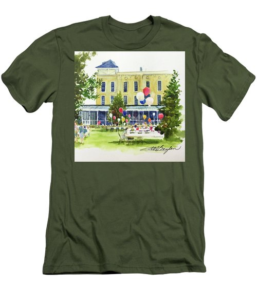 Ice Cream Social And Strawberry Festival, Lakeside, Oh Men's T-Shirt (Athletic Fit)