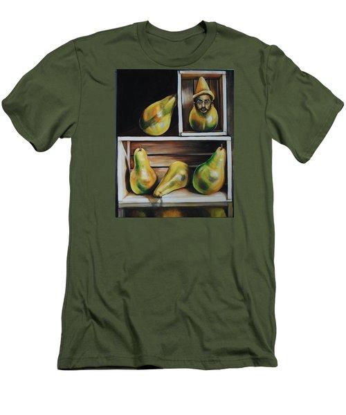 Toulouse-lautrec As A Pear Men's T-Shirt (Slim Fit) by Jean Cormier