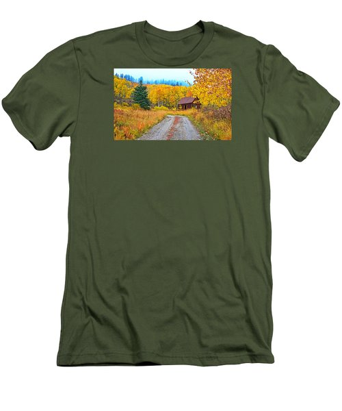Idyllic Nostalgia Men's T-Shirt (Athletic Fit)
