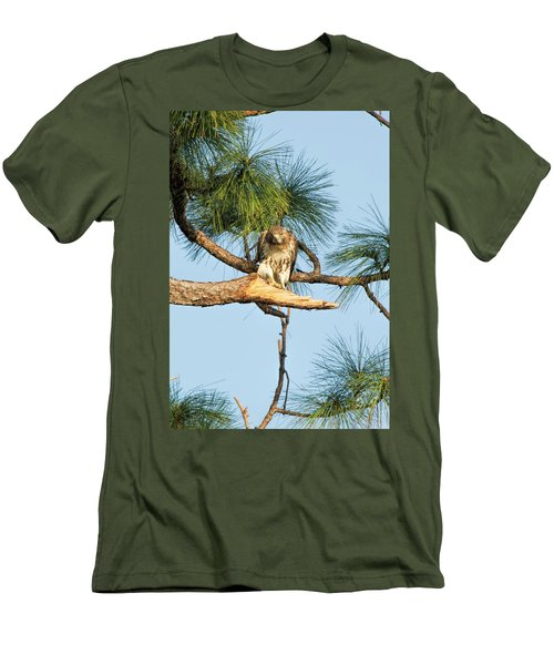 If Looks Could Kill - Hawk Men's T-Shirt (Athletic Fit)