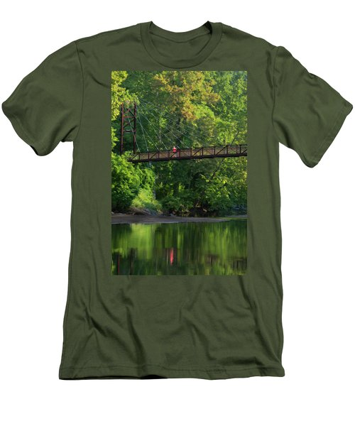 Ilchester-patterson Swinging Bridge Men's T-Shirt (Athletic Fit)