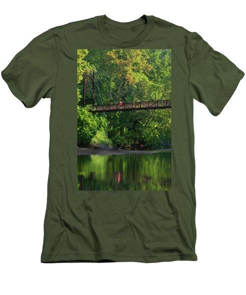 Ilchester-patterson Swinging Bridge Men's T-Shirt (Athletic Fit)